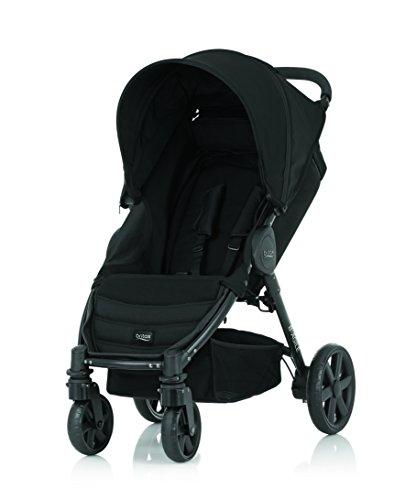 Britax B-Agile 4 - Carrito para bebés o niños hasta 4años negro tormenta negra