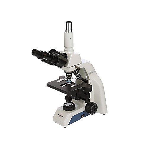 ACCU-Scope EXC-121-V Monocular Compound Microscope, Vertical Camera Tube, 4x/10x/40x/100x Oil Achromat Objectives, 120V