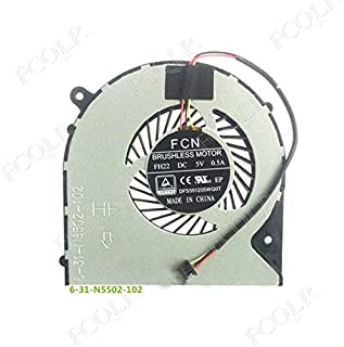 FCQLR Compatible for Asus FK15 Fan DFS501105PR0T Fan 13NB0GC0T01011 Cooling Fan