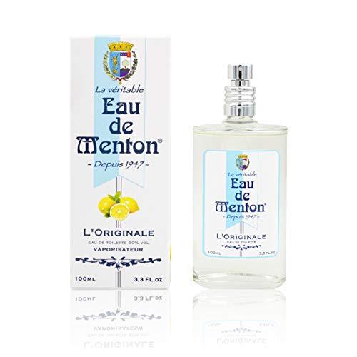 Eau de Menton - L'Originale, depuis 1947 - Eau de Toilette mixte, Artisan Parfumeur en Côte d'Azur (100 ml)