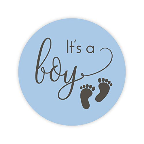 120-1' It's a Boy Stickers, Baby Shower Stickers (#372-B)