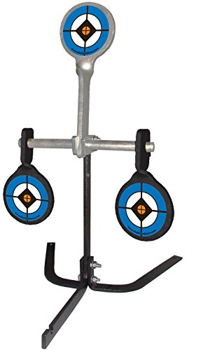 Do-All Outdoors Steel Auto Resetting Spinner Shooting Target Rated for .38-.44 Caliber