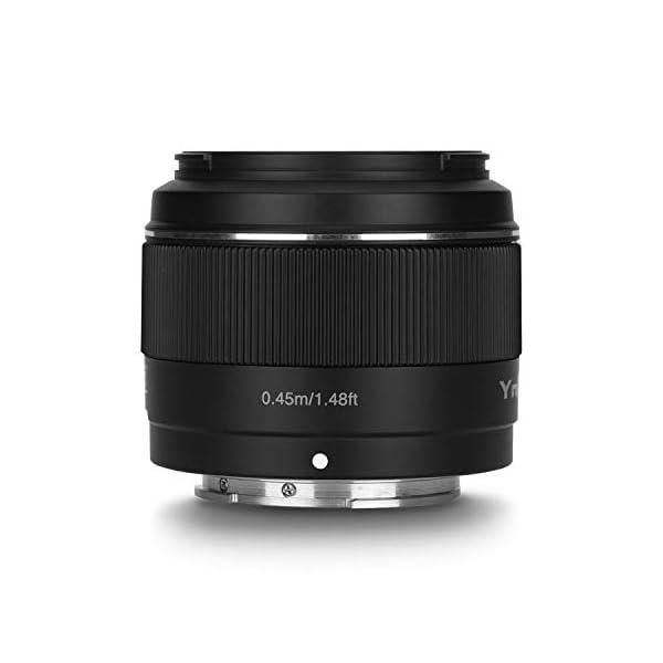 RetinaPix YONGNUO YN50mm F1.8S Lens 50mm F1.8 Larege Aperture APS-C Standard Prime E-Mount Auto Manual Focus AF MF USB for Sony Cameras