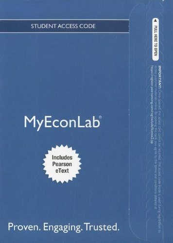 NEW MyLab Economics with Pearson eText -- Access Card -- for Macroeconomics Updated (MyEconLab (Access Codes))
