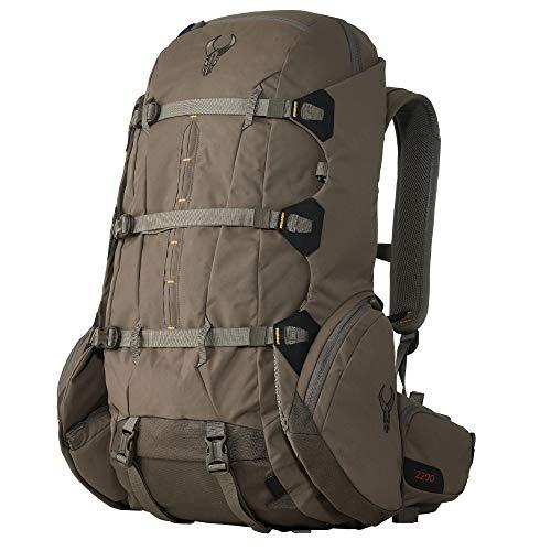Badlands 2200 Hunting Backpack with Built-in Meat Hauler, Mud, Large