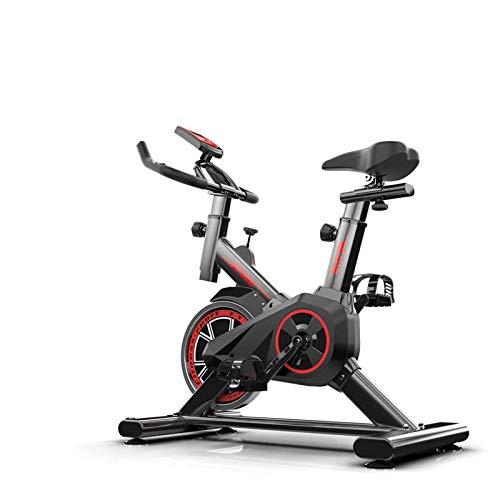 WGFGXQ Steppers, Bicicleta de Interior con Volante, Equipo Deportivo de Bicicleta Ajustable para el hogar, Entrenamientos de Fitness en casa