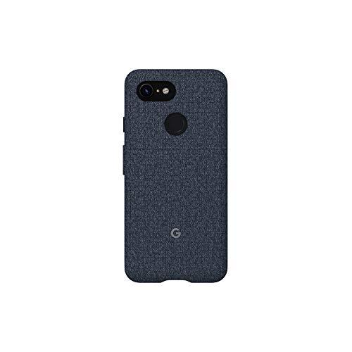 Google GA00496 - Funda para móvil (tamaño XL, Tejido a Medida, Borde Activo, para Pixel 3), Color Azul