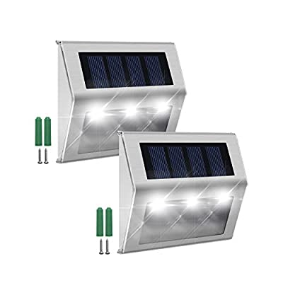 JACKYLED Solar Step Lights