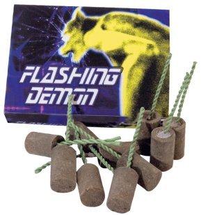 12 Stück Flashing Demon ganzjahres Garten Feuerwerk
