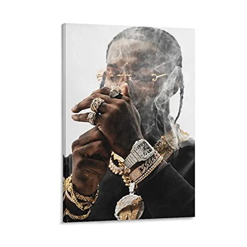 BAIQUE Pop Smoke – Element (Meet The Woo 2) Canvas Art Poster en Wall Art Picture Print Moderne Familie slaapkamer Decor…