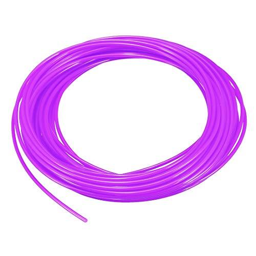 N/A Recharge de Filament pour Stylo d'imprimante 3D, Longueur 32,8 Pieds, diamètre 1,75 mm, PLA, précision dimensionnelle / - 0,02 mm, pour Peinture et Dessin 3D, Violet Transparent