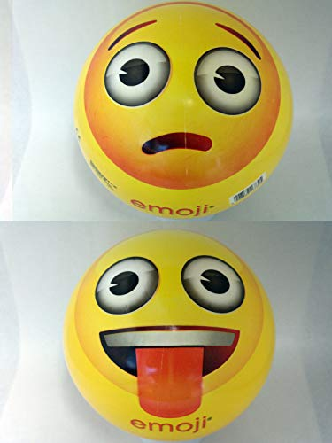 Emoji 16730 – Happy People Balle en Plastique, 23 cm