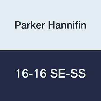 Parker Stainless Steel 316 Pipe Fitting 90 Degree Street Elbow 1//2 NPT Male X 1//2 NPT Female