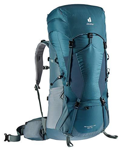 Deuter Aircontact Lite 65+10, Zaino da Trekking Unisex-Adult, Arctic-Teal, 10 L