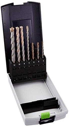 Festool SDS Plus Set Schlagbohrhammer Schrauberbits, mehrfarbig, 7Stück