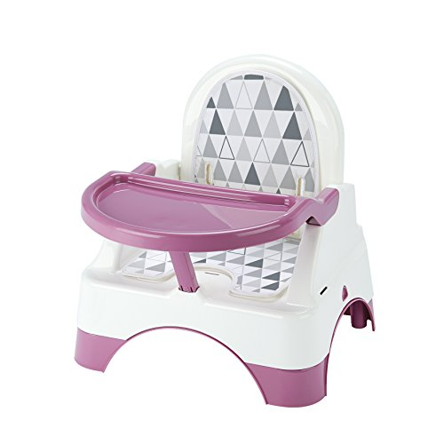 THERMOBABY Edgar Rehausseur de Chaise Rose Orchidée