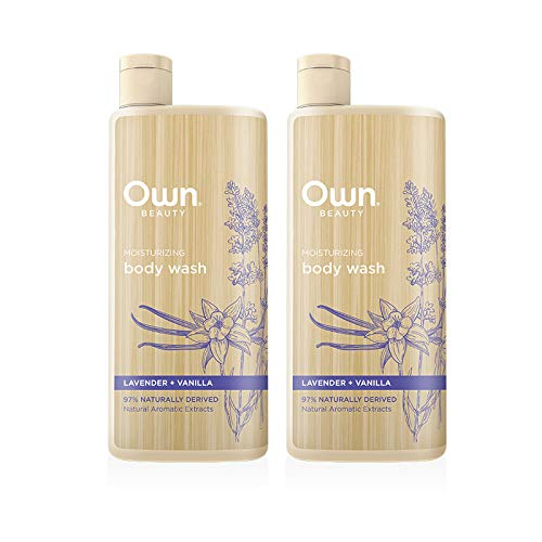 Own Beauty Body Wash - Lavender + Vanilla | 16.9-ounce Twin Pack | Naturally Derived, Parabens-free, Pthalate-free, Dye-free, and Certified Cruelty Free