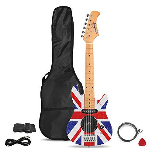 Academy of Music Chitarra elettrica per Bambini, Set per Principianti con Amplificatore Integrato e Accessori, Vari Design