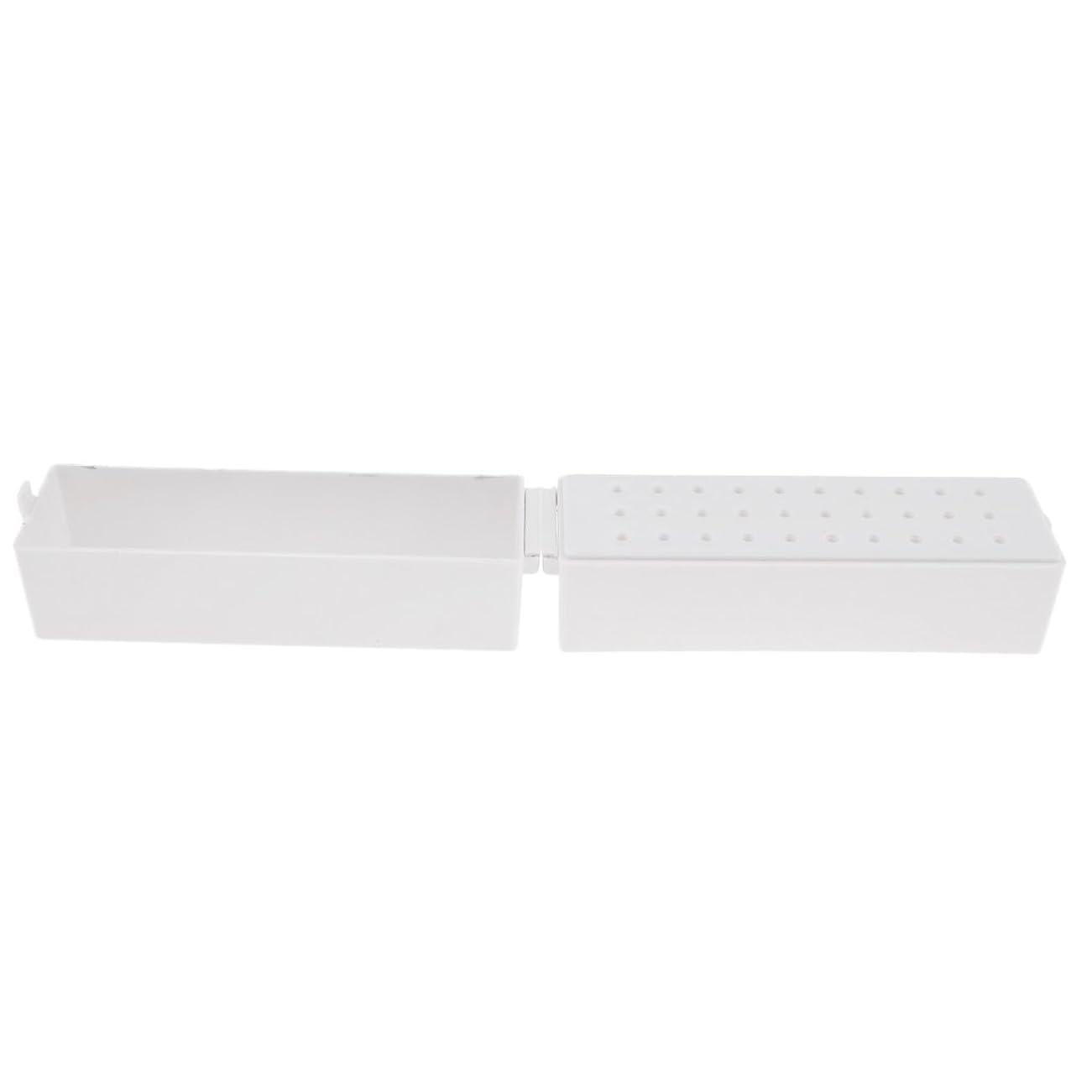 どれでもためにどっちCUTICATE ドリルビットホルダー ドリルビットスタンド 収納オーガナイザー プラスチック ネイル道具