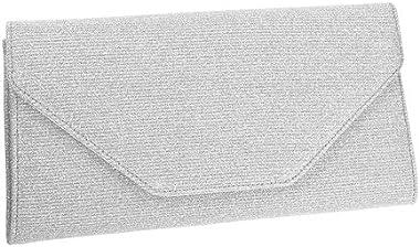 Rainbow Club Handtasche Brauttasche - Saskia Silver Metallic