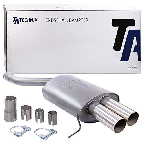 TA-Technix EVOE464E276 Sportendschalldämpfer 2x76mm