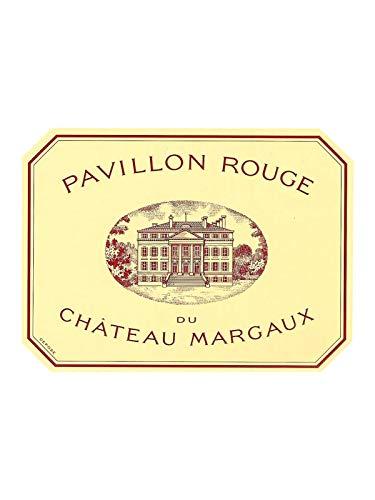 PAVILLON ROUGE du Château Margaux 1986, Margaux - (Beschädigtes Etikett)