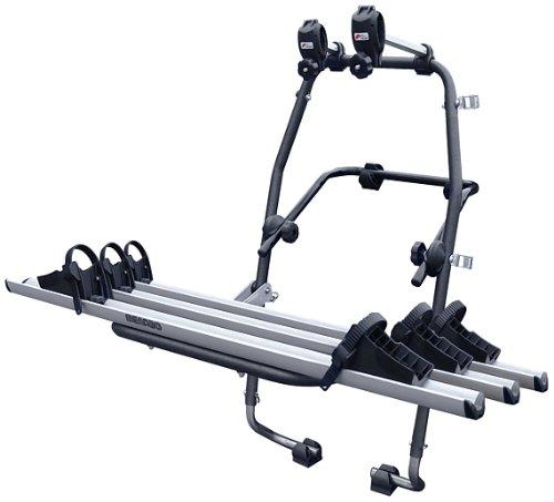 MENABO 000063500000 Stand Up 3 Portabicicletas en Acero con 3 Carriles en Aluminio
