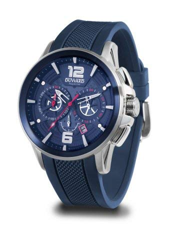 Reloj Duward Caballero Correa Silicona Azul 48mm. D85530.05