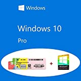 Windows 10 Pro OEM FQC-08913 Product Key Sticker + COA olografico pack
