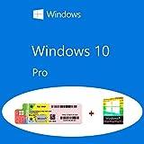 Windows 10 Pro OEM FQC-08913 Product Key Sticker + COA olografico pack