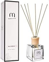 Mabel aroma Reed Diffuser, Essential Oil, Perfume, Incense, Household Indoor Bedroom, Lasting Fragrance, air freshener, Toilet Deodorant (Roses)