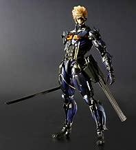 SDCC2013 Play Arts Kai Metal Gear Rising: Revengeance Raiden custom body blue ver.