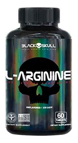 L-ARGININA (60TABLETES) - BLACK SKULL IMPORTADO - Neutro