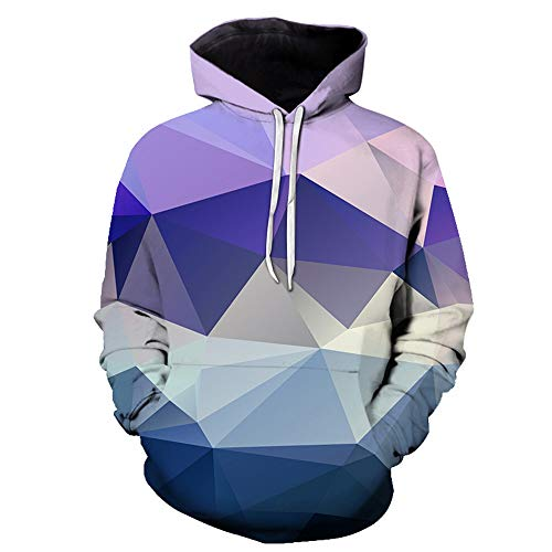 Mens 3D Vivid Pattern Printed Hoodie Sweatshirt Hoody Drawstring Pullover with Pocket Unisex Stylish Hoodie Pullover Loose Warm 2020 Hip Hop Tops 6XL