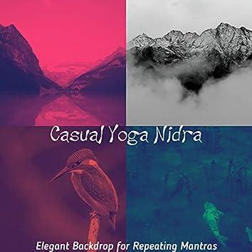 Elegant Backdrop for Repeating Mantras