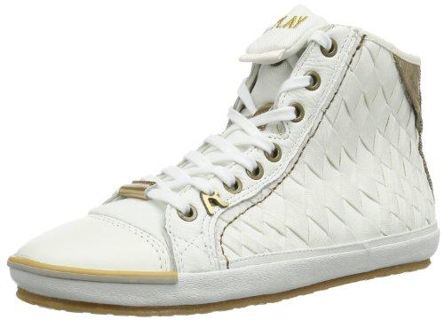 Replay Electra Web GWV14 .000.C0070T Damen Sneaker, Weiß (Off White 41), EU 36