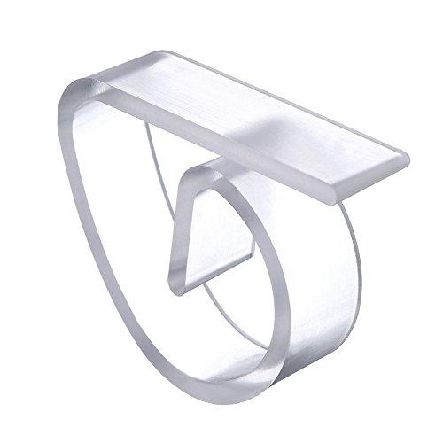 Demarkt 12 Pcs Kunststoff Tischtuchklammern Tischklammern Tischdecke Tischdecke Clips Halter Klemmen für Party Picknick