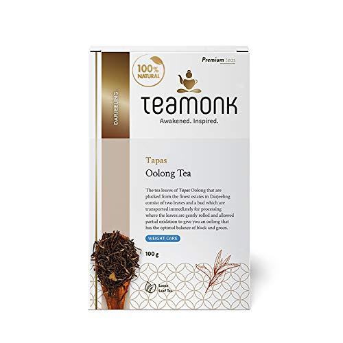 Teamonk Tapas Imperial Himalayan Oolong Tea Loose Leaf (50 Cups) | 100% Natural...