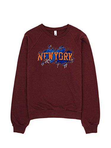 Amnesty Sports New York Torn 2.0 Sweatshirts (Truffle, xx-Large) image