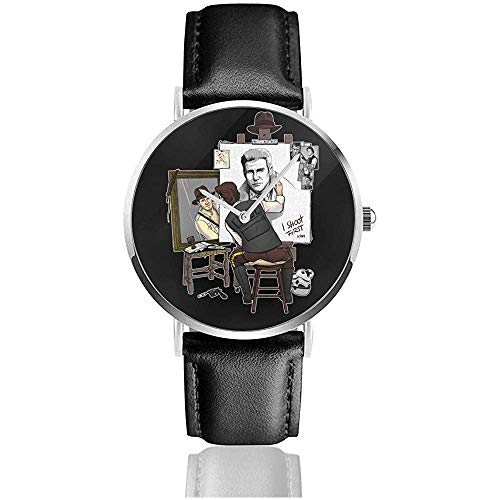 Unisex Business Casual Harrison Triple Hero Uhren Quarz Leder Uhr