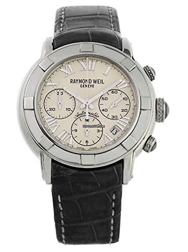 Raymond weil 7241-stc-00808 Herren Uhr analog Automatik mit Leder Armband 7241-STC-00808