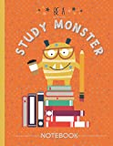 Be A Study Monster Notebook College Ruled:...