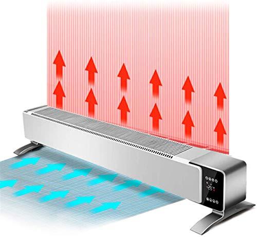 Calentadores eléctricos de calentamiento Rodapié eléctrica de convección calentador con bloqueo for...
