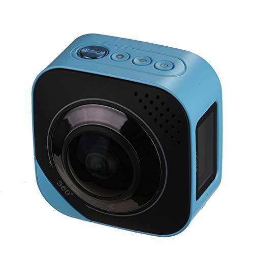 Sport im Freien Digitale 4K Netzwerk tragbare HD Panorama Fisheye-Kamera 720 Grad Weitwinkel 4K Dual Lens Auto Video Sportaufnahmen Digitale Außenkamera drahtlose Remote-Netzwerk-Kamera