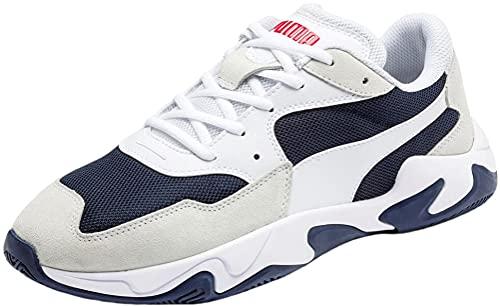 Puma Storm Adrenaline - Zapatillas deportivas (Puma White-Peacoat), color Blanco, talla 46 EU