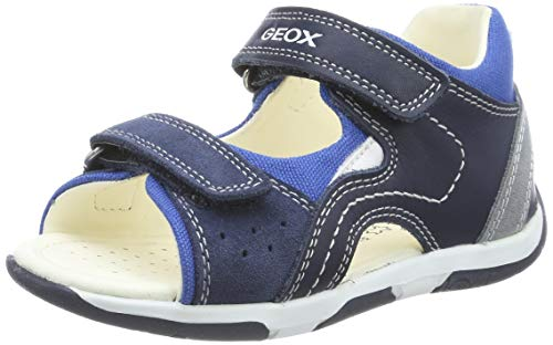 Geox Baby Jungen TAPUZ Boy B Sandalen, Blau (Navy/Royal C4226), 21 EU