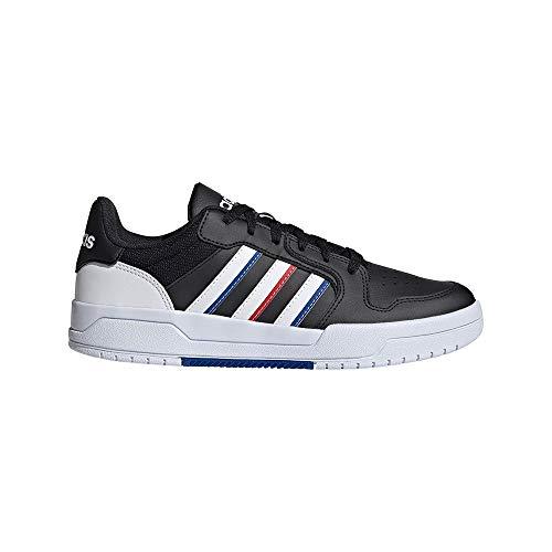 adidas ENTRAP, Zapatillas de Baloncesto Hombre, NEGBÁS/FTWBLA/Escarl, 43 1/3 EU