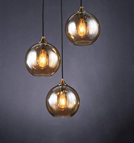 Lampadario moderno tavolo da pranzo lampada a sospensione, 3 luci Ø20cm lampada a sospensione a...