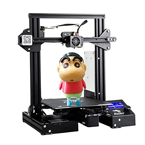 Bxvaty Creality Ender 3 Pro 3D Printer with Upgrade Removable Build Surface Plate,UL Certified Power Supply and Resume Printing Function,220x220x250mm for School Home and Hobbists