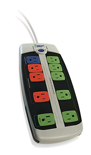 Bits Limited LCG-3MVR Energy Saving Surge Protector with Autoswitching Technology, 10-Outlet